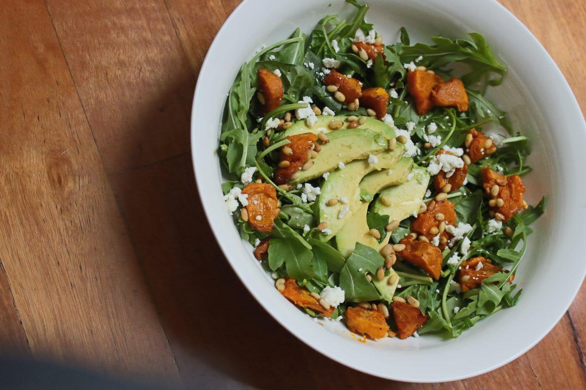 simple_salad_pumpkin_vegetarian